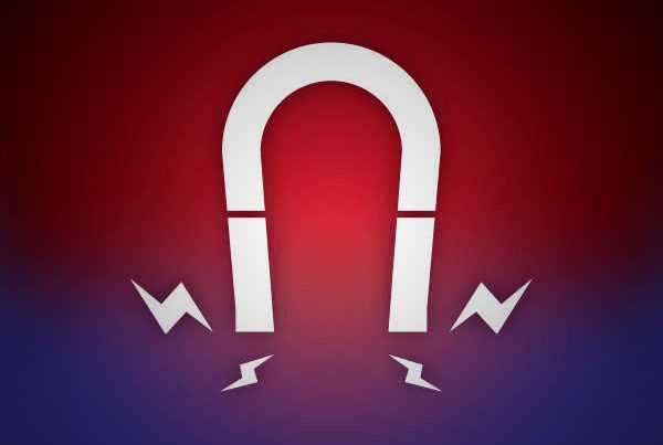 in-school field trips magnetism icon