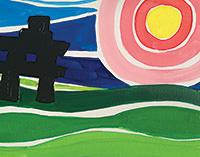 creative art series in-school field trip - ted harrison inuksuk
