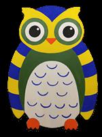 creative art series in-school field trip - other artist owl