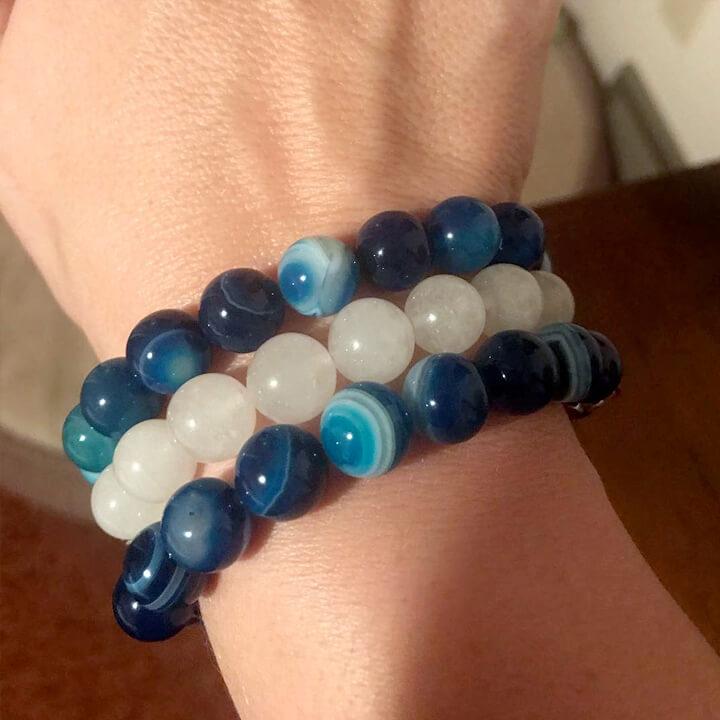 teacher's pet giving back - shake it off design - beaded bracelet