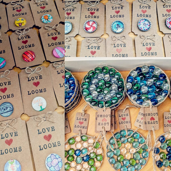 teacher's pet giving back - love heart looms products